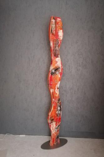 Vloerlamp WAVE ORANGE 4389