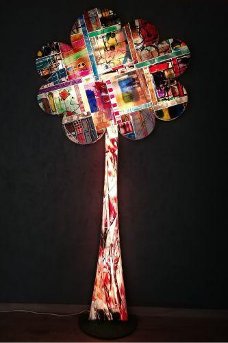VERKOCHT: LED-object THE TREE